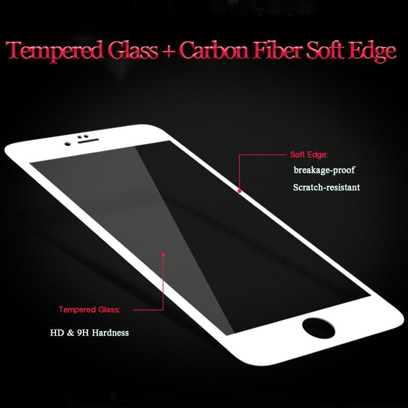 Blueo 0.15mm German glass HD tempered glass screen protector for iPhone 7/plus 2