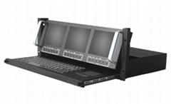 Triple Screen LCD Console