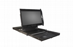 DVI LCD Console Drawers Screen Rotate Version