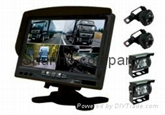 High quality rear view camera system for truck and bus