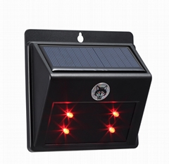 Solar wildlife repeller