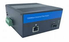 Gigabit Ethernet Industrial Fiber Media Converter with Poe (IM-PC111GE)
