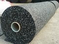 8mm thick epdm rubber flooring with
