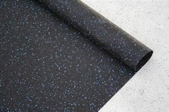 6mm thick anti vibration fitness rubber