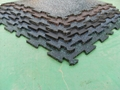 12mm thick crossfit interlocking rubber tiles for gym flooring 1
