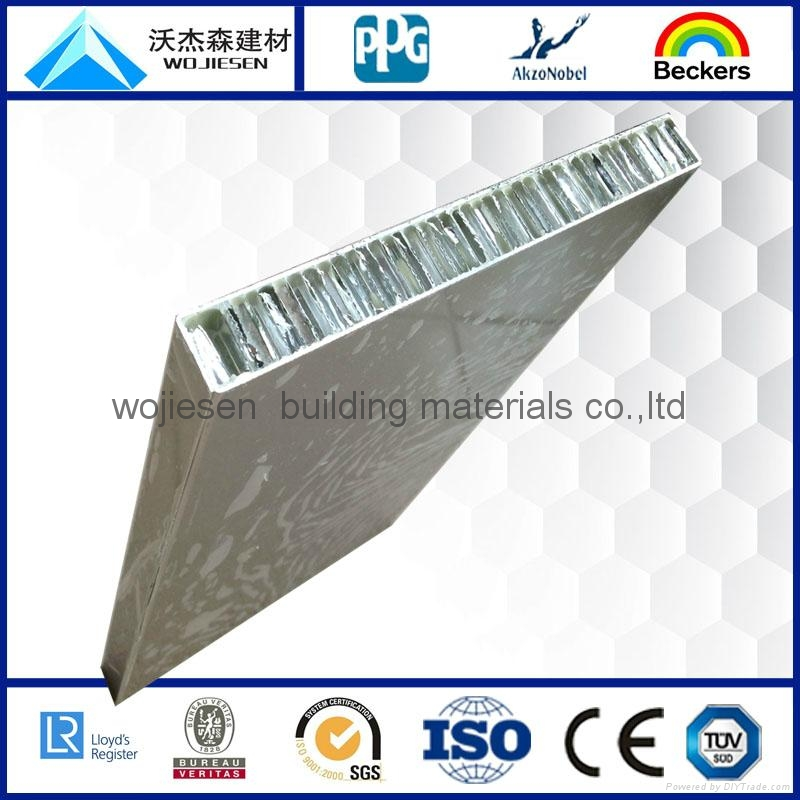 aluminum honeycomb panel for facade cladding 2