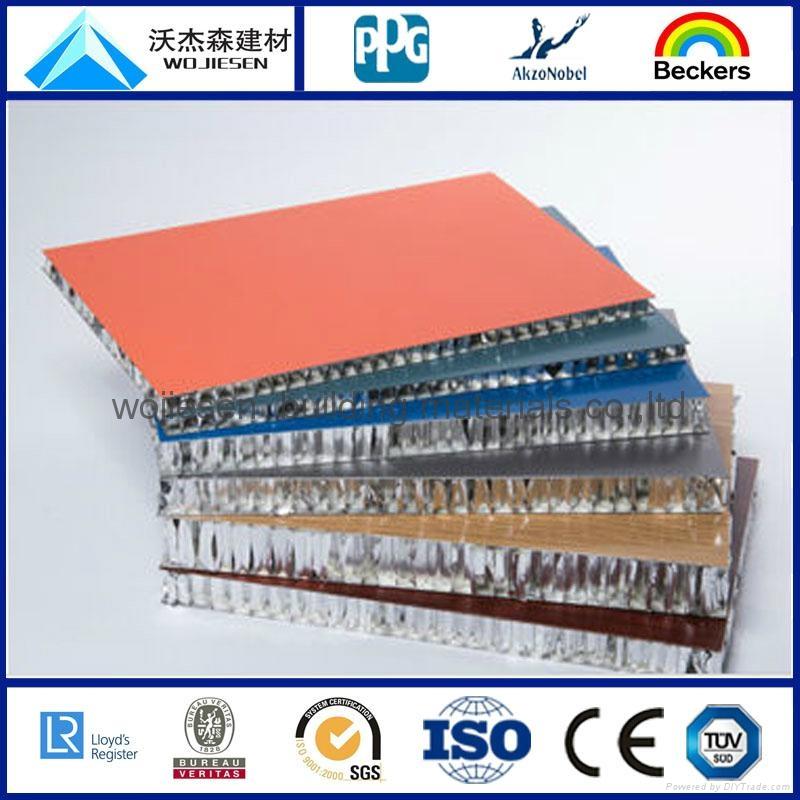 aluminum honeycomb panel for facade cladding 3