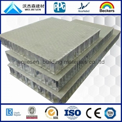 fiberglass honeycomb panel for stone
