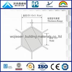 aluminum honeycomb core A3003/A5052