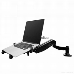 Laptop Monitor Arm with Desk Clamp or
