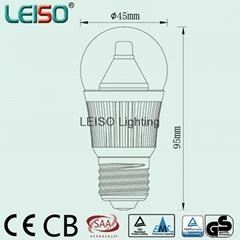 LED G45球泡灯5W