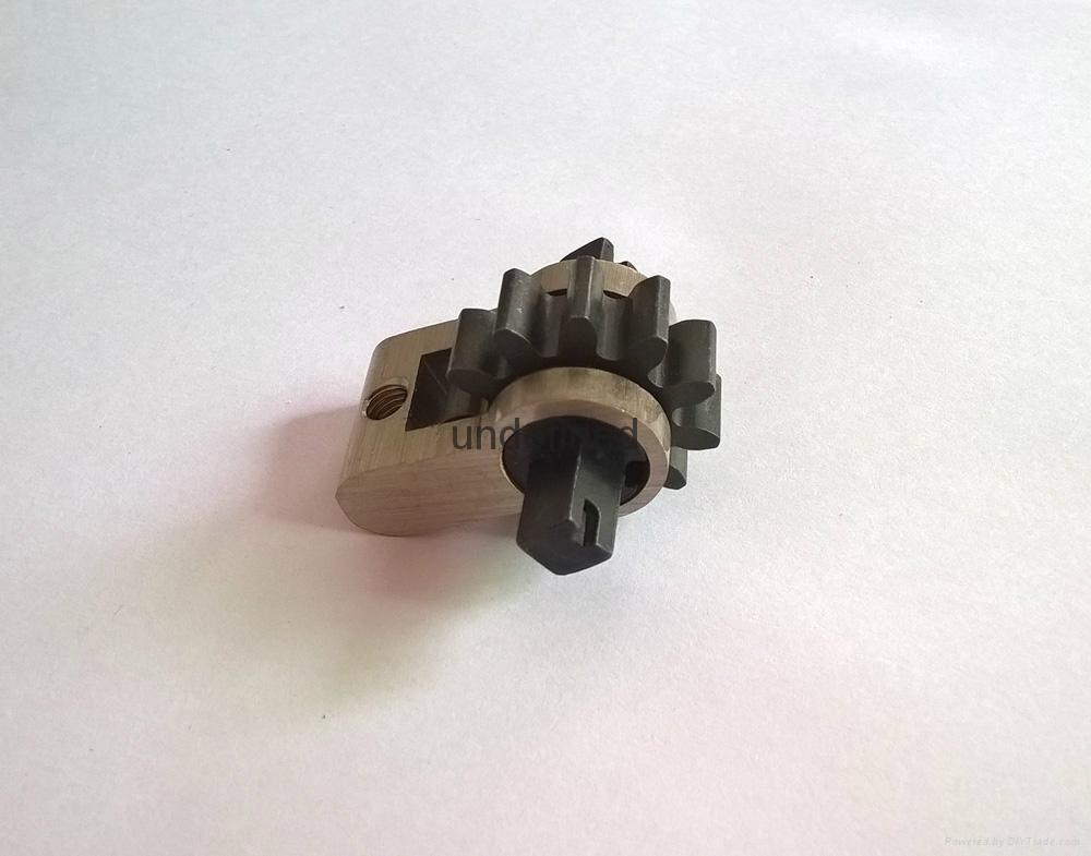 假鎖芯 全銅方孔 十字孔 齒輪 假鎖芯 電子鎖內鎖芯 假鎖芯訂做 4