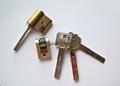 連體鎖芯 伸縮型智能鎖鎖芯 電子鎖拉長葉片鎖芯 3