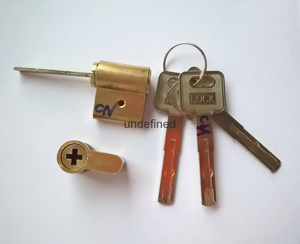 連體鎖芯 伸縮型智能鎖鎖芯 電子鎖拉長葉片鎖芯 4