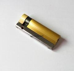 超长型空转电子锁芯 半截空转锁芯定制 超C级叶片锁芯定制