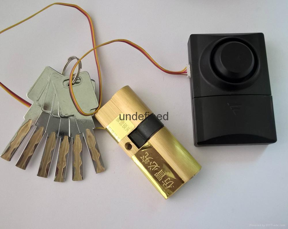 報警鎖芯 超B級葉片報警鎖芯 全銅鎖芯 報警鎖芯定製 1