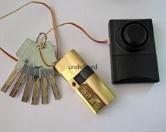 报警锁芯 超B级叶片报警锁芯 全铜锁芯 报警锁芯定制