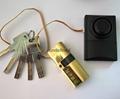報警鎖芯 超B級葉片報警鎖芯 全銅鎖芯 報警鎖芯定製 5