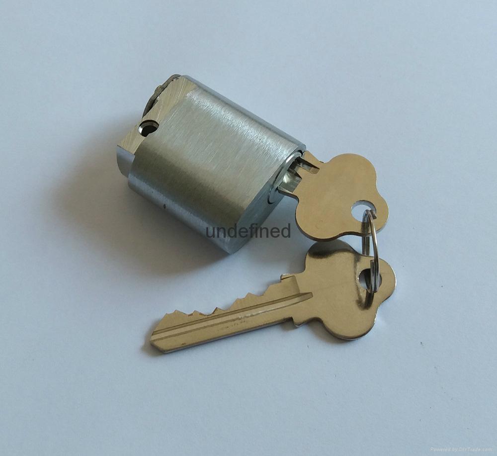 全銅橢圓鎖芯 美標鎖橢圓鎖芯 全銅出口鎖芯 美標鎖插芯鎖芯 1