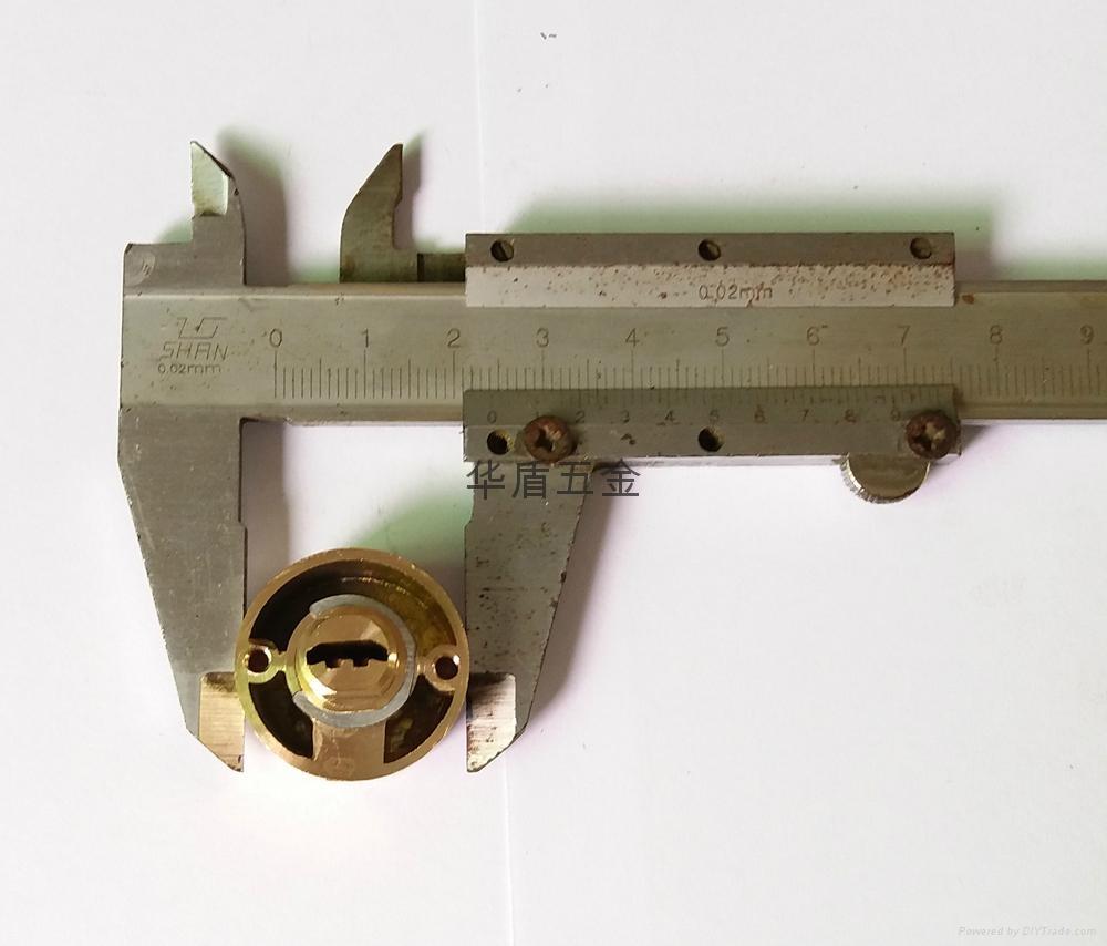 雙排珠卷閘門鎖芯 全銅卷閘門鎖芯 中山小欖卷閘門鎖芯定製 5