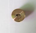 雙排珠卷閘門鎖芯 全銅卷閘門鎖芯 中山小欖卷閘門鎖芯定製 2