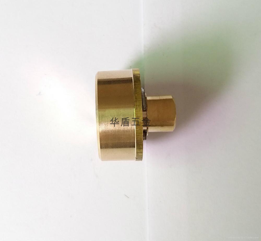 雙排珠卷閘門鎖芯 全銅卷閘門鎖芯 中山小欖卷閘門鎖芯定製 3