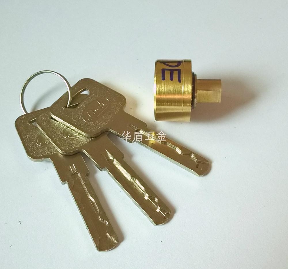 超B級卷閘鎖芯 葉片卷閘門鎖芯 超B級鎖芯定製 1