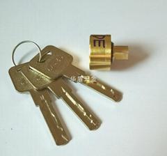 超B级卷闸锁芯 叶片卷闸门锁芯 超B级锁芯定制