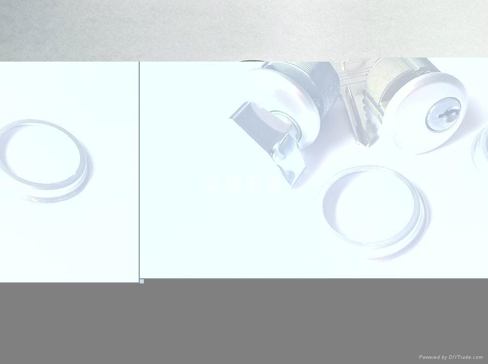 單開型肯德基鎖芯 鋅合金旋鈕肯德基鎖芯 單邊螺紋肯德基鎖芯 4