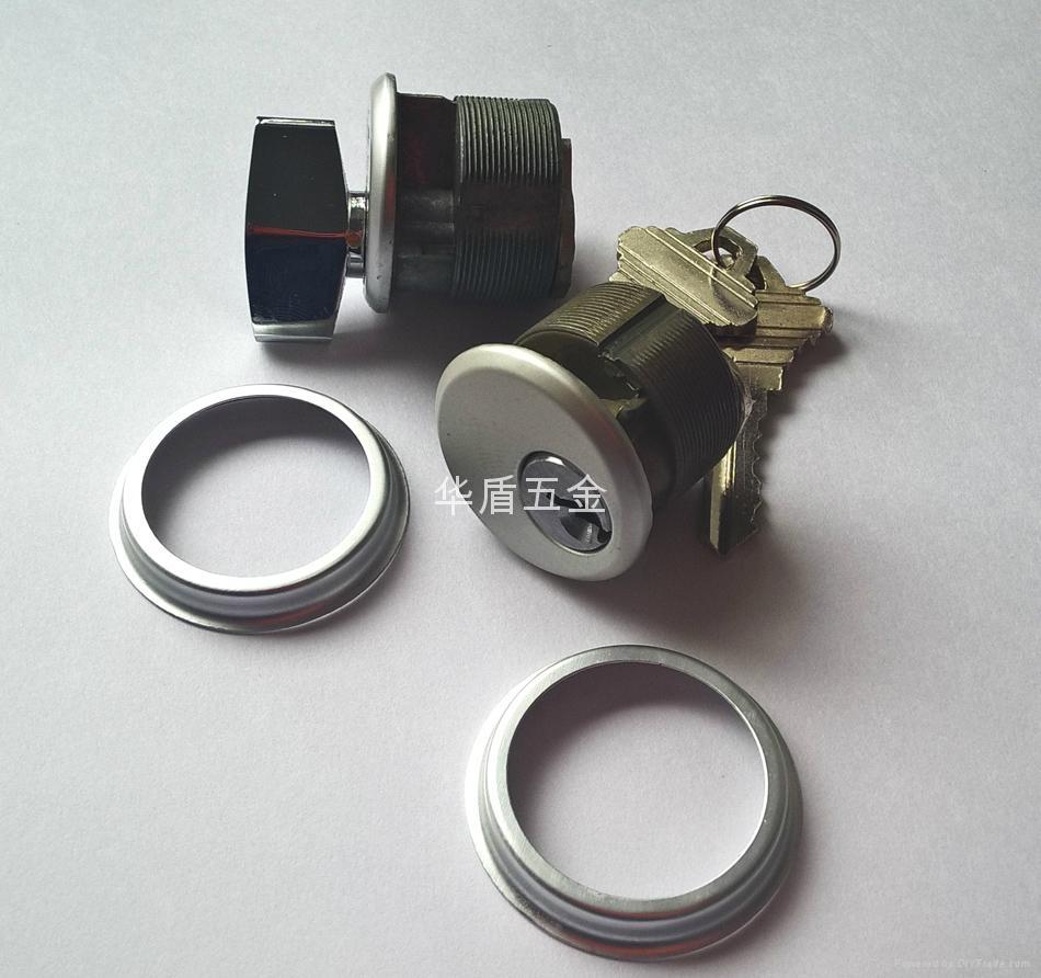 單開型肯德基鎖芯 鋅合金旋鈕肯德基鎖芯 單邊螺紋肯德基鎖芯 3