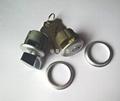 單開型肯德基鎖芯 鋅合金旋鈕肯