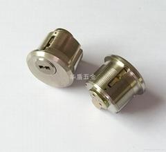 超B级肯德基全铜锁芯 C级美标螺纹锁芯 全铜肯德基锁芯
