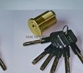 超B級美式螺紋鎖芯 高檔美標鎖