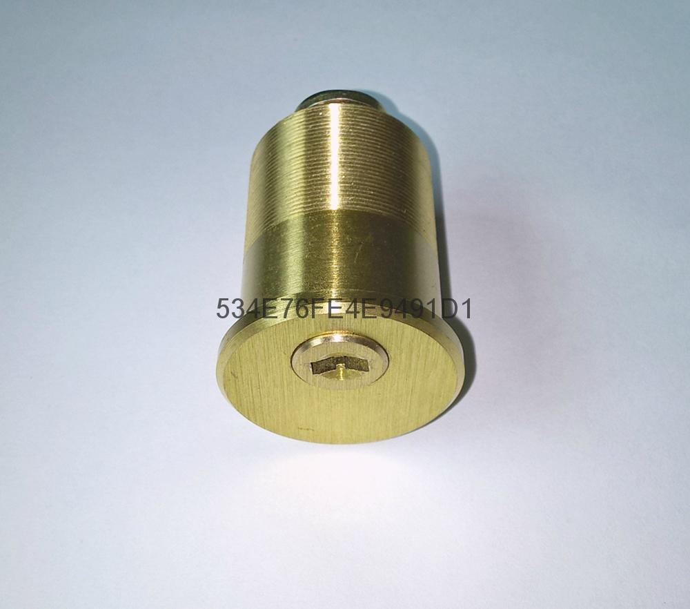 超B級美式螺紋鎖芯 高檔美標鎖芯 中山小欖葉片鎖芯定製 5