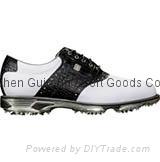 Brand DryJoys Tour Saddle Golf Shoes