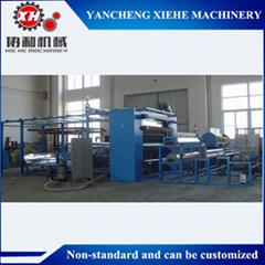 Sponge  Flame Laminating Machine Operation Step