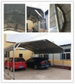 Metal Structure Portable Metal Car Shelter Steel Carport