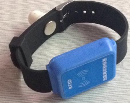 台鼎 TD-PA13B 2.4G有源防拆手腕帶 1
