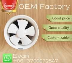 glass window exhaust fan ventilating fan