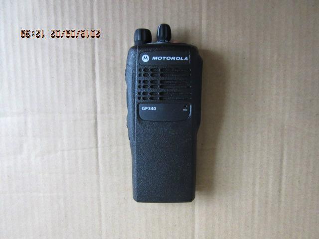 物业管理好帮手音质清晰响亮的摩托罗拉GP340无线通讯非数字对讲机 1