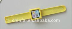 CE LFGB ROHS Silicone Case for iPod Nano 6th