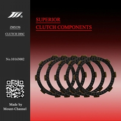 Hot sale high quality CG125 motorcycle clutch friction disc