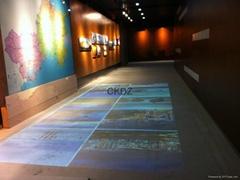 地面互動投影系統