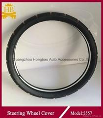 2016 new design steerign wheel cover for car 5557