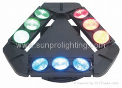 triangle spider led moving head stage light
