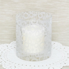 Best Selling Glass Candle Cup Cheap Glass Candle Holder