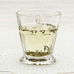 High Quality Clear Glass Tea Cup Sets Drinking Glass Cup Factory