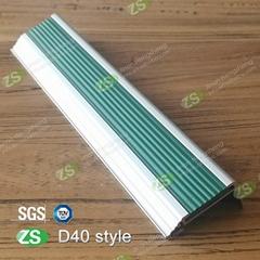 Anti-slip Aluminium Interior Tile for Modern Marble Stair Nosing