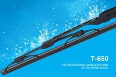 T-650 Windshield Wiper Blade Metal Wiper Blade Clear Vision Wiper Blade