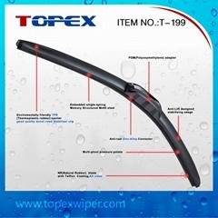 T-199 New High Quality Soft Windshield Wiper Blade Universal Wiper Blade
